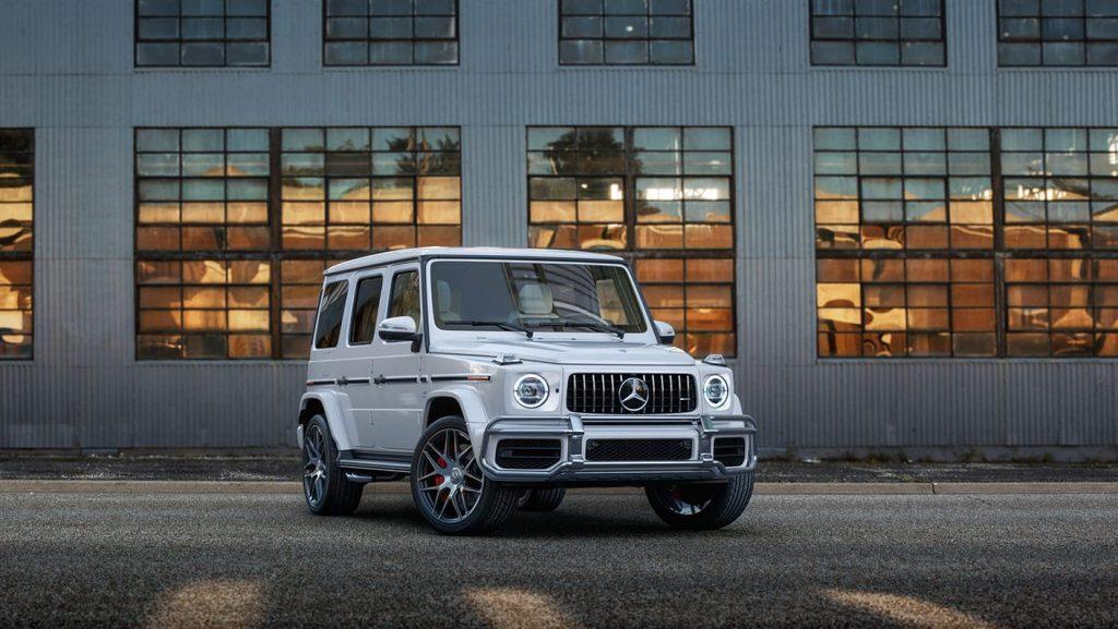 Ấn tượng với Ngoại Hình tuyệt đẹp của Mercedes-AMG G63