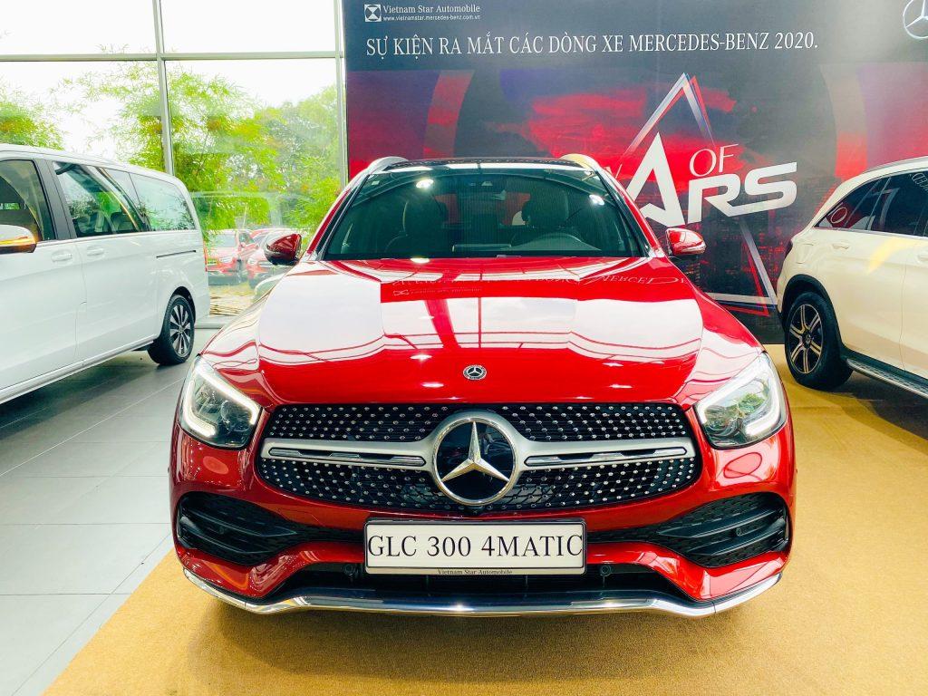 Giá lăn bánh Mercedes GLC 300 4Matic 2022