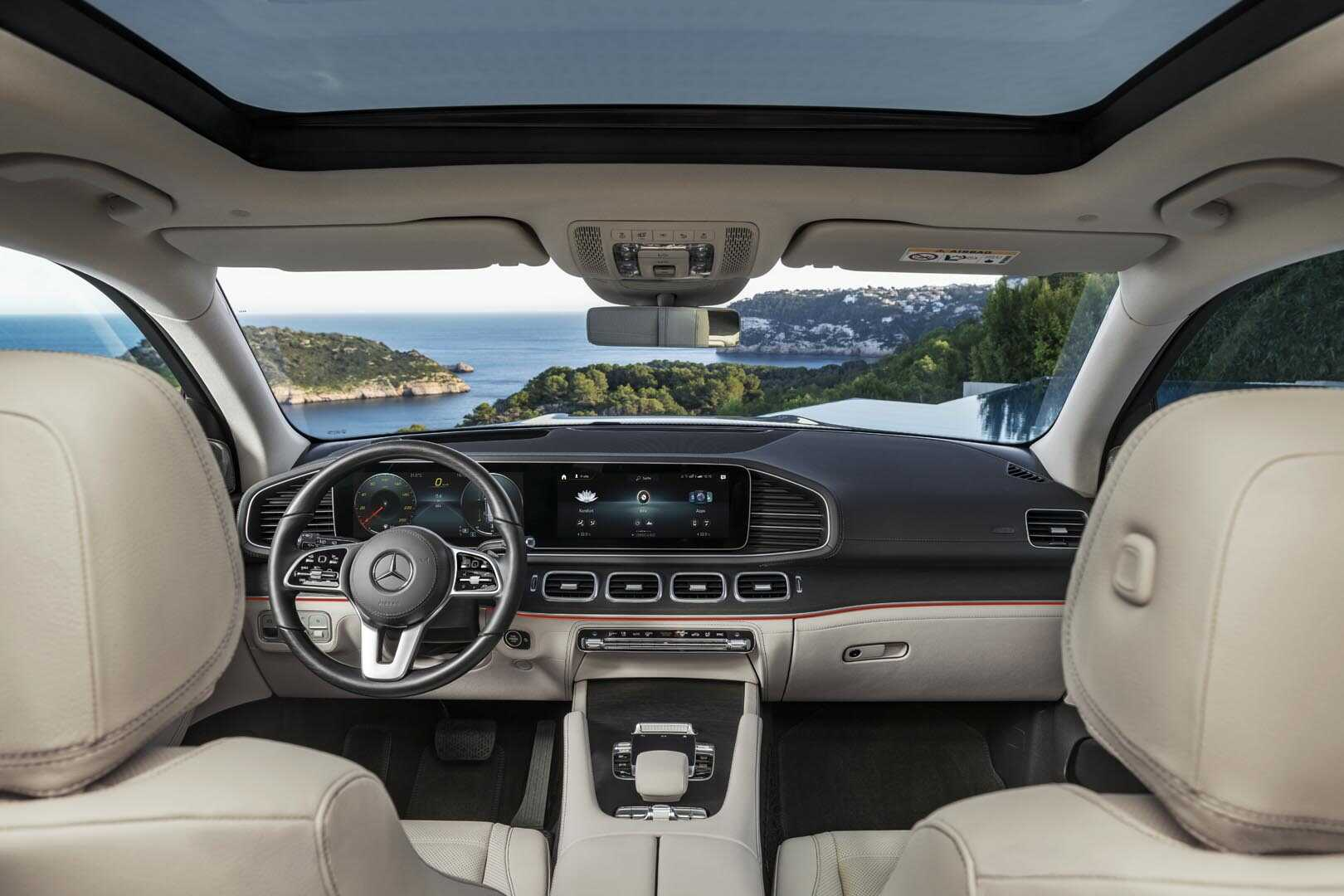 Không gian NỘI THẤT của Mercedes GLS 450 4Matic