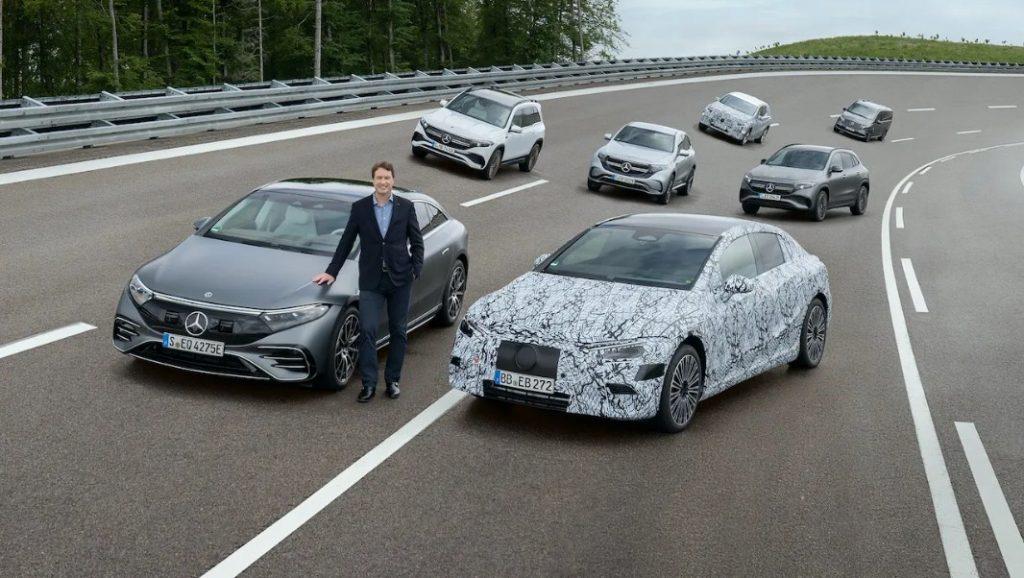 Mercedes-Benz sẽ hoàn toàn chạy bằng điện vào năm 2030