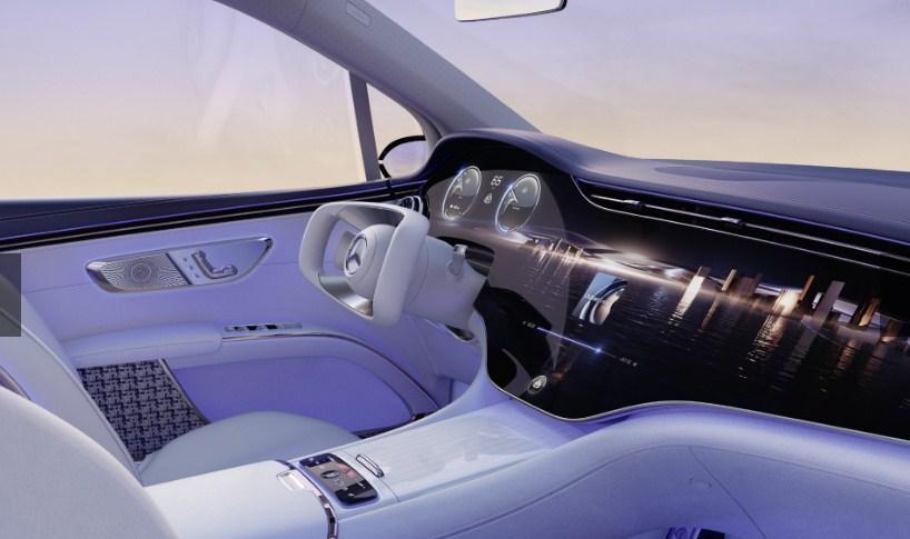 Mercedes-Maybach EQS concept giới thiệu chiếc SUV điện tương lai của mình dưới dạng siêu sang